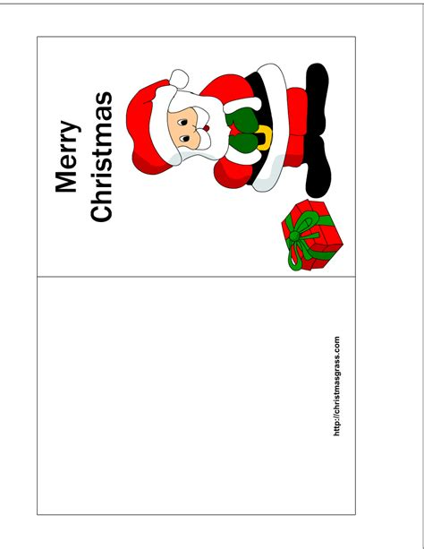 free printable christmas card templates printable