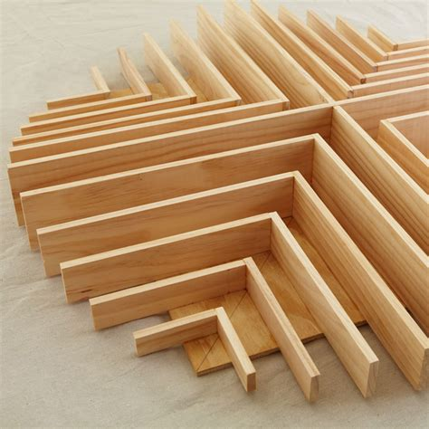woodworking plywood wood square circle wall