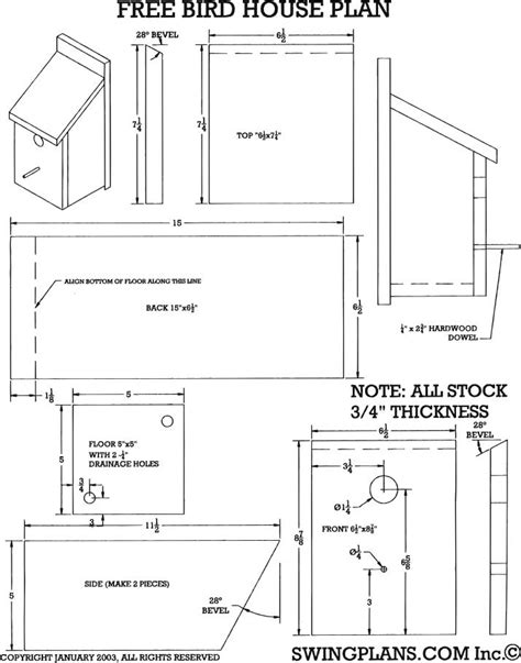 blueprints for houses free bird house plans to pdf plans bluebird house plans freepdfplans woodplanspdf