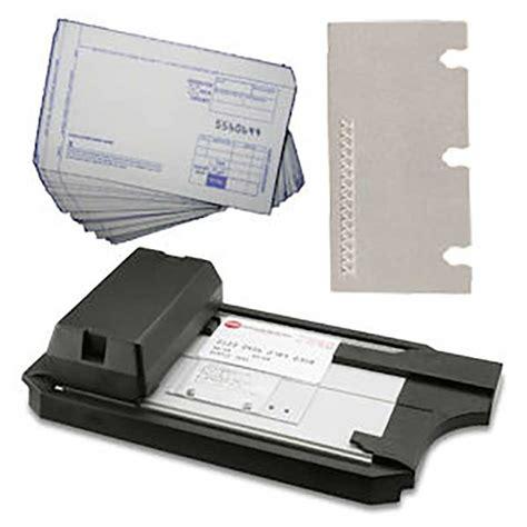 card equipment manual credit card imprinting kit