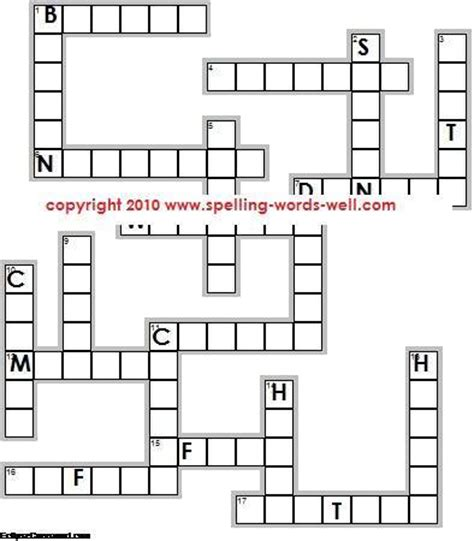 for 4th graders spelling puzzles spelling worksheets