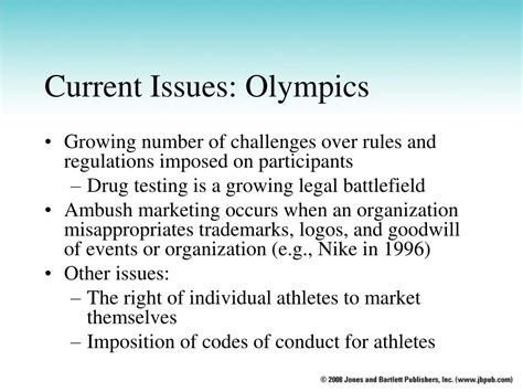 current issue ppt chapter 5 principles applied to sport