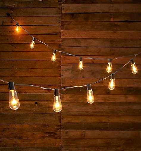 edison lights string vintage look edison style 10 light bulb string light