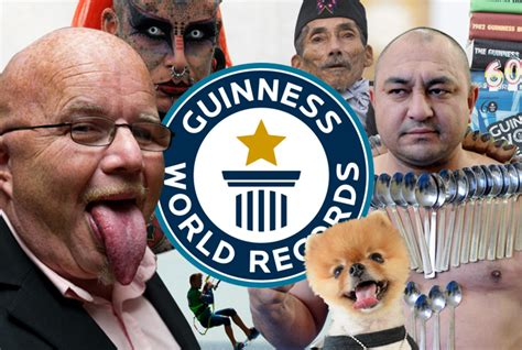 guinness book of world records pictures 17 interesting facts about the guinness book of world