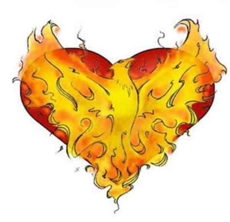 phoenix heart hearts pinterest
