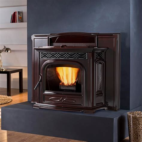wood pellet fireplace insert reviews pellet fireplace inserts fireplaces