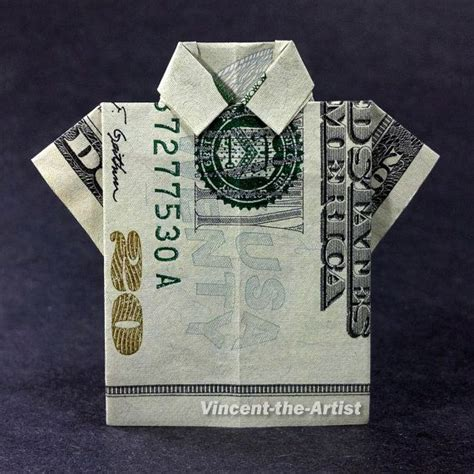shirt money origami shirts clothes and money origami on