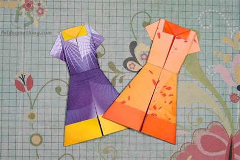 how to make a paper dress origami how to fold an origami five point pattern crafts