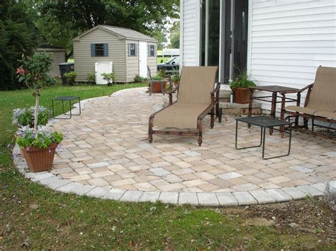 patio designes paver patio ideas with useful function in stylish designs