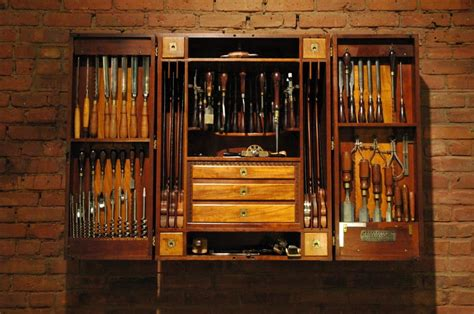 woodworking tool cabinet carpenters tool cabinet at 1stdibs