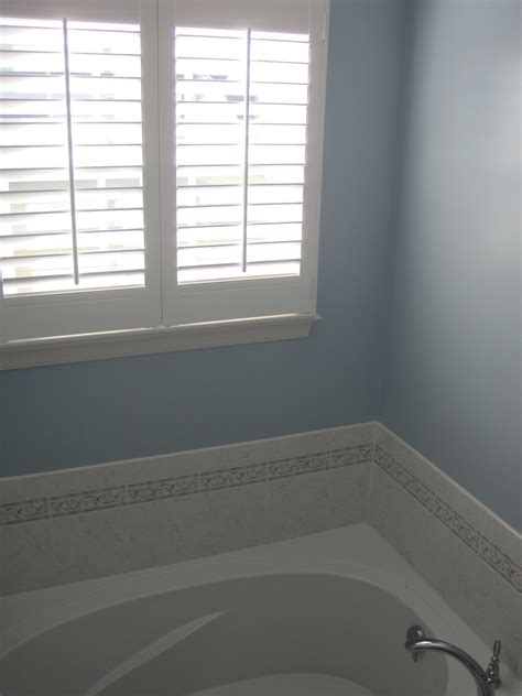 behr paint color blue behr quot sonata quot blue bathroom for the home