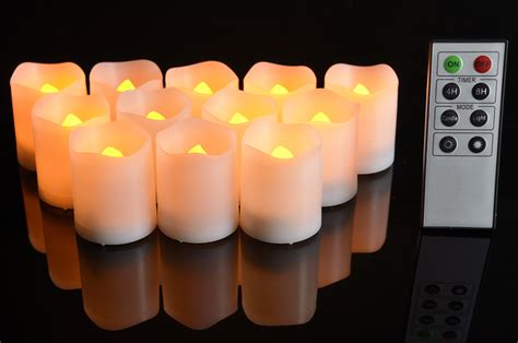 remote battery operated lights flameless led battery operated tea lights w remote
