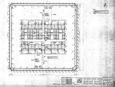 world trade center tower blueprints