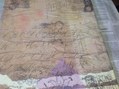 what paper can you use for decoupage q can anyone help me with advice on using vellum paper and