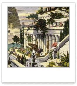 Der Garten Ischtar Kunst by Babilonski Viseci Vrtovi