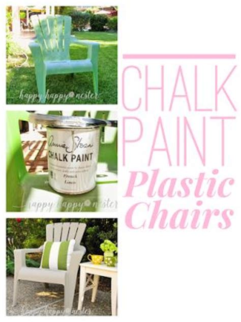 chalk paint plastic 17 best ideas about painting plastic chairs on