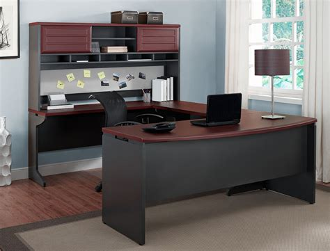 ebay home office furniture office furniture executive u desk set large wood computer