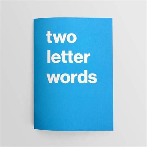 new scrabble two letter words book of two letter words journal nothing major