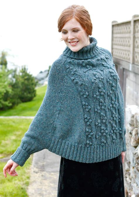 knitting pattern poncho with sleeves knitting and beading wedding bridal accessories and free