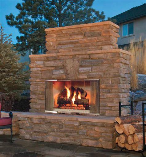 outdoor fireplace montana wood burning outdoor fireplace