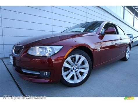 2011 Bmw 328i Coupe by 2011 Bmw 3 Series 328i Xdrive Coupe In Vermillion
