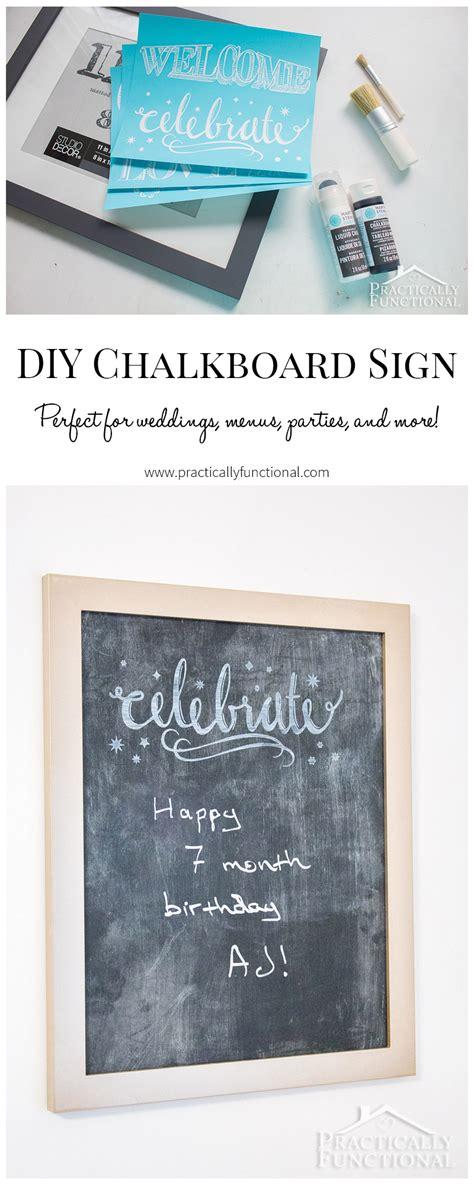 diy chalkboard duster diy chalkboard sign