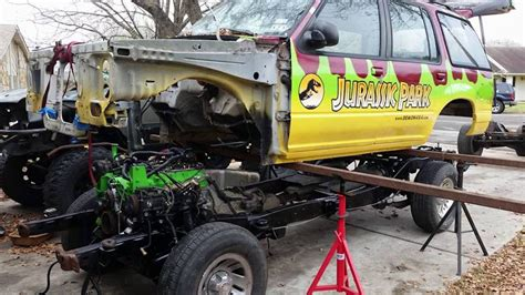 Parks Ford by Bandit Customs Build 10 Jurassic Park Ford Explorer