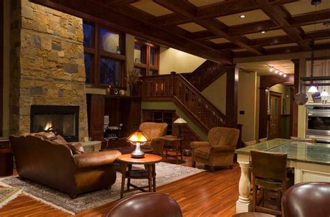 home interior style craftsman style homes interior with brown sofa and with table l home interior exterior