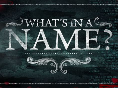 whats a what s in a name steph robbins ministries
