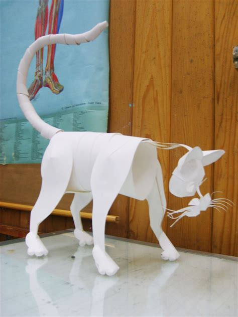 animal paper crafts papercraft animal by swordtosoul on deviantart