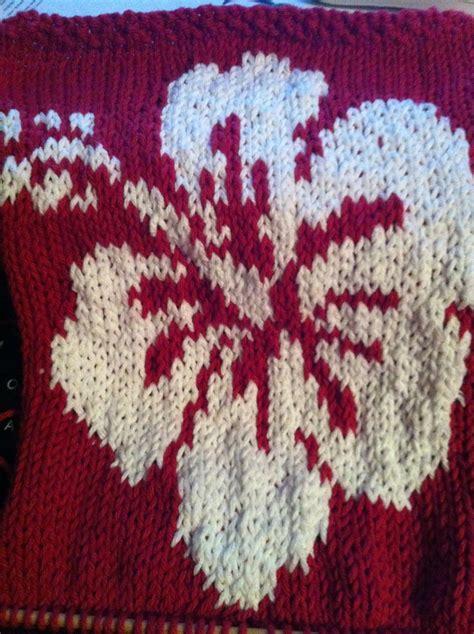 colorwork knitting colorwork knitting motifs surf hibiscus
