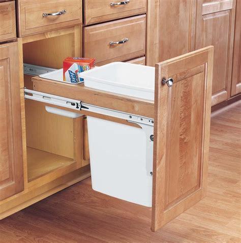 kitchen trash can storage cabinet woodwork wooden storage for kitchen garbage can pdf plans