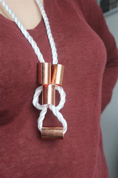 make your own jewelry store diy rope jewelry hgtv