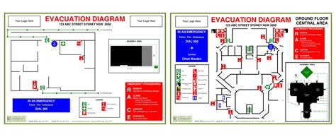 workplace emergency management evacuation diagrams fire