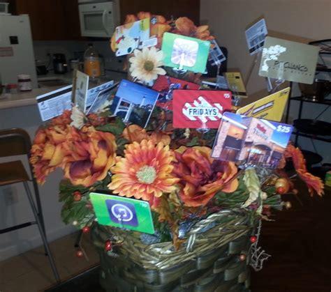 gift card basket ideas creative gift ideas