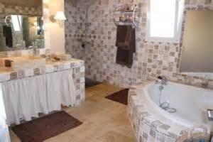 salle de bain en travertin 3 photos jlo30