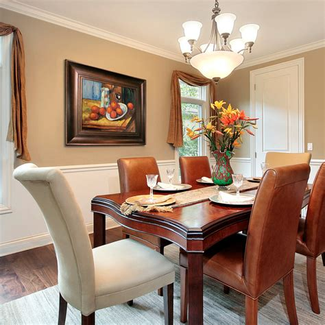 paintings for dining rooms traditional dining room
