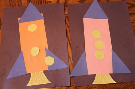 rocket crafts for rocket ship craft search book week