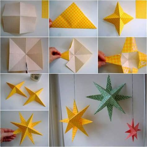 paper craft decoration home wonderful diy easy 3d paper decoration