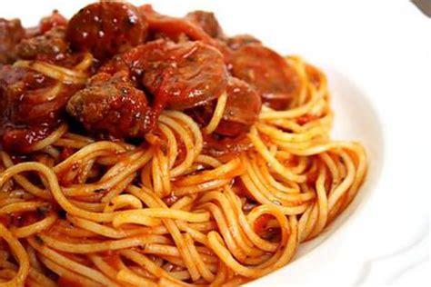 recette de spaghetti bolognaise chorizo