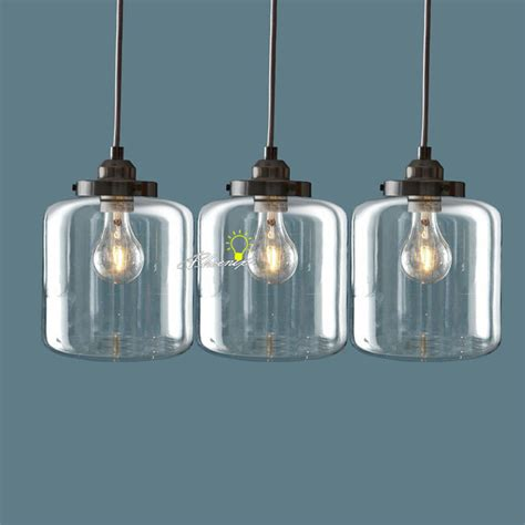 glass pendant light fixtures nordic clear glass jar pendant lighting 8861 browse