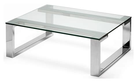 stainless coffee table arissa coffee table polished stainless steel with glass