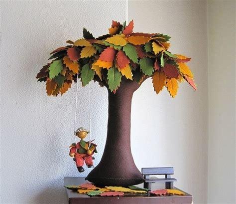 handmade tree diy creative handmade felt trees from template