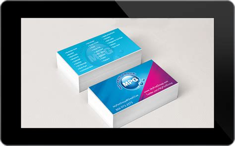 card company print design portfolio professional graphic and website