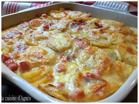 lacuisinedagnes gratin de jambon a la cancoillottela cuisine d agn 232 s