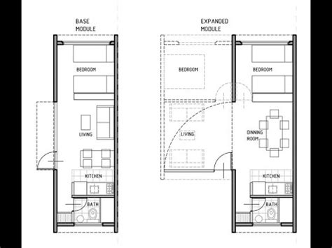 house plan drawing pdf shipping container house technical plans