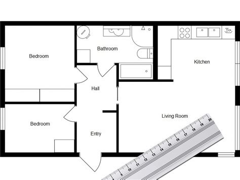 how to draw a floorplan home design software roomsketcher