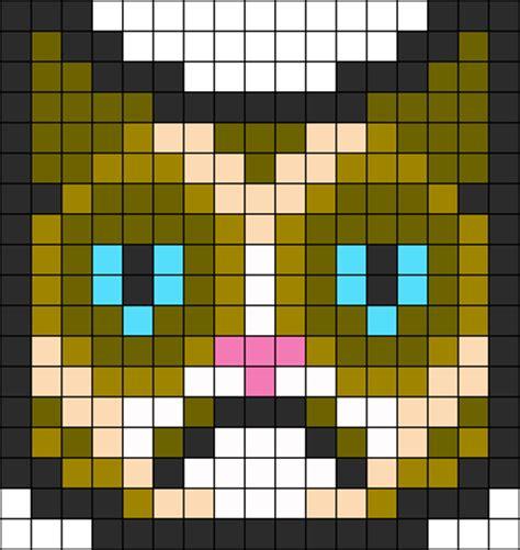 perler bead patterns cat kakashi copycat kun deviantart