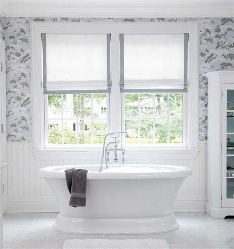 bathroom curtains for windows ideas 9 bathroom window treatment ideas deco window fashions