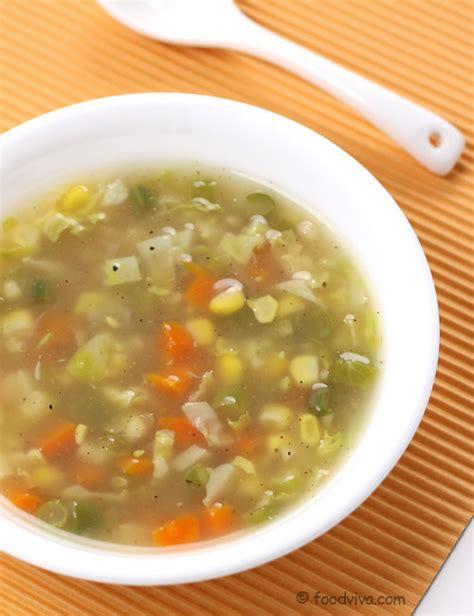 how to make garden vegetable soup veg soup recipes